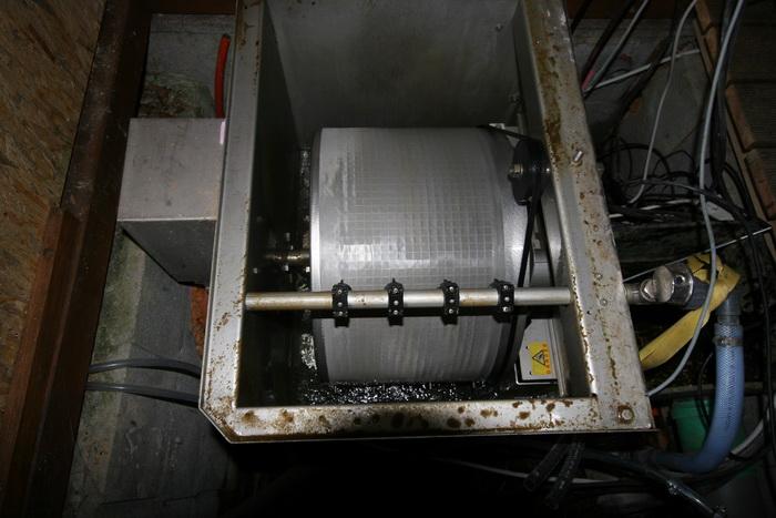 The koi pond of zoom filtration for Filtre bassin koi