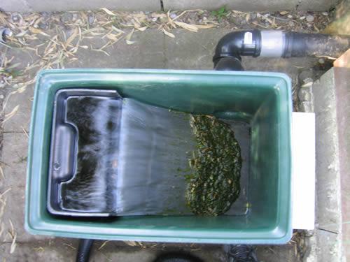 Grille pour filtre bassin nous vivons dans sa maison - Filtre bassin maison ...