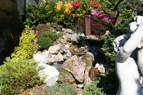 Beautiful rocaille et bassin de jardin pictures amazing for Amenagement jardin rocaille