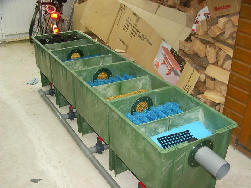 Incollare polietilene e pvc for Filtri da laghetto