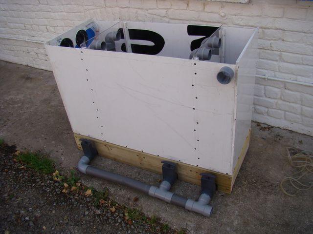 Filtre bassin fait maison elegant filtre pour bassin kit for Filtre bassin maison