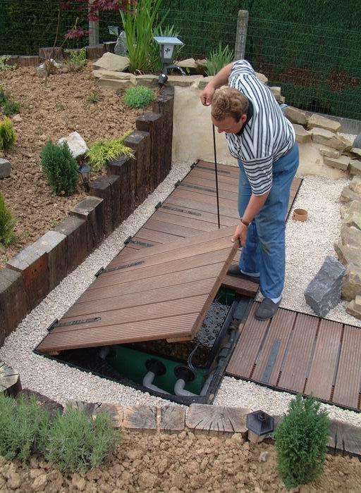 Construction d un bassin de jardin id es de conception sont - Construction bassin de jardin ...