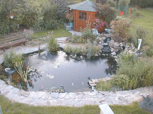 Construction de mon bassin - Construction etang de jardin ...