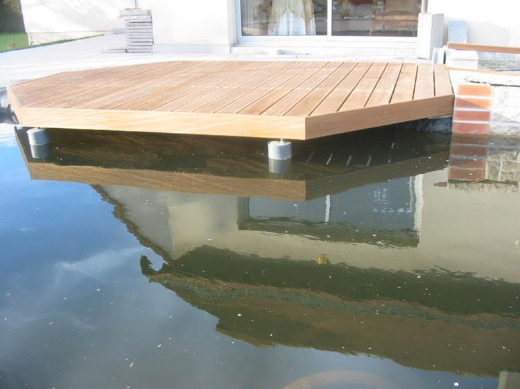 Am nagement du jardin aquatique de patrick la terrasse - Bassin balcon terrasse le mans ...
