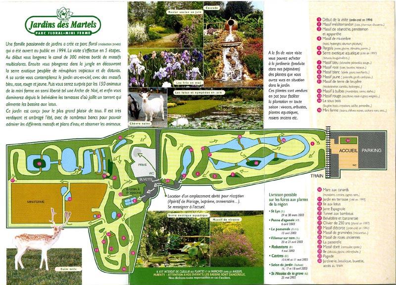 les jardins des martels