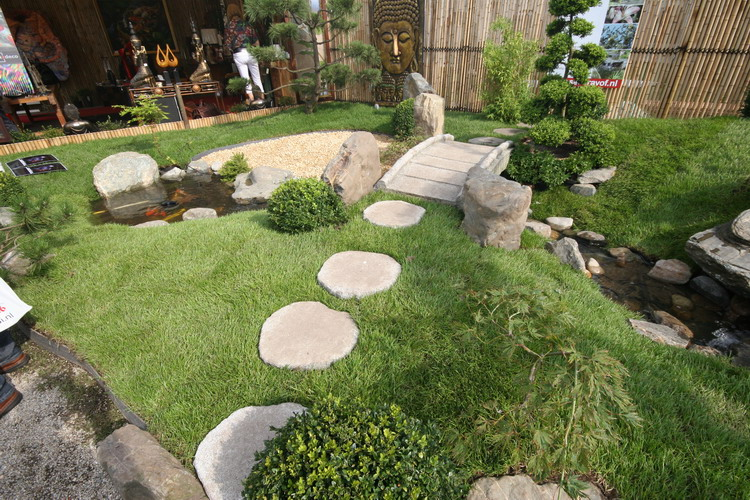 Farm pond overflow design related keywords suggestions for Jardin japonais miniature