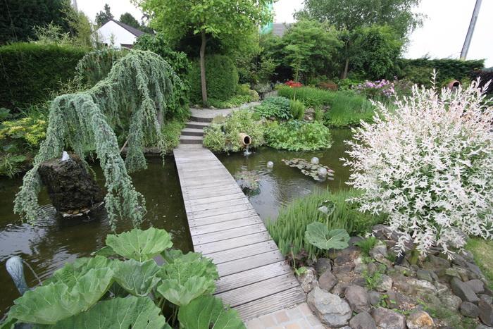 Miroir d 39 eau aqualife bassin de jardin de d monstration 2 for Bassin de jardin d occasion