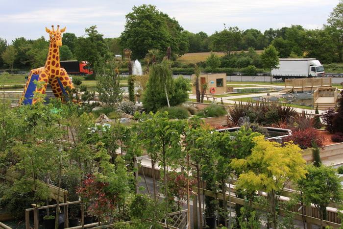 Les Jardins de Belle Ville - Les jardins et bassins de démonstration ...