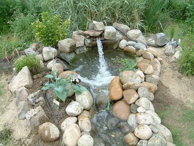 Aquatechnobel est le bassin de jardin jardin japonais for Pompe cascade
