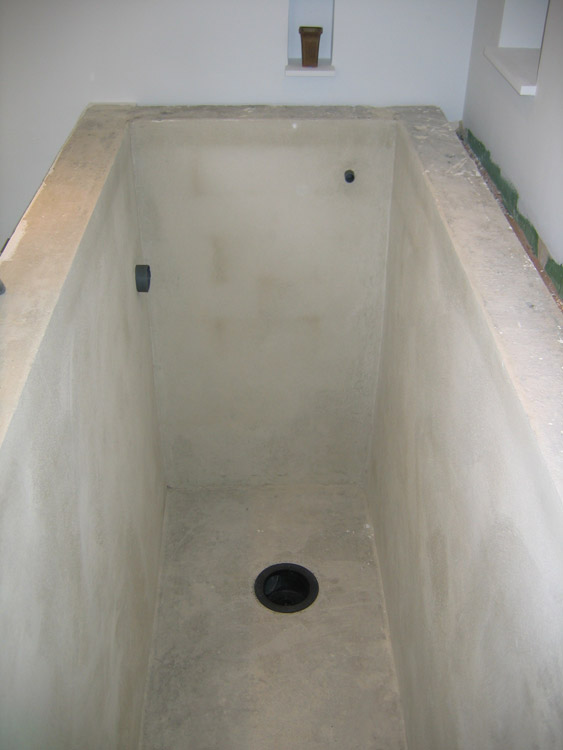 construction d 39 un bassin int rieur la construction 3. Black Bedroom Furniture Sets. Home Design Ideas