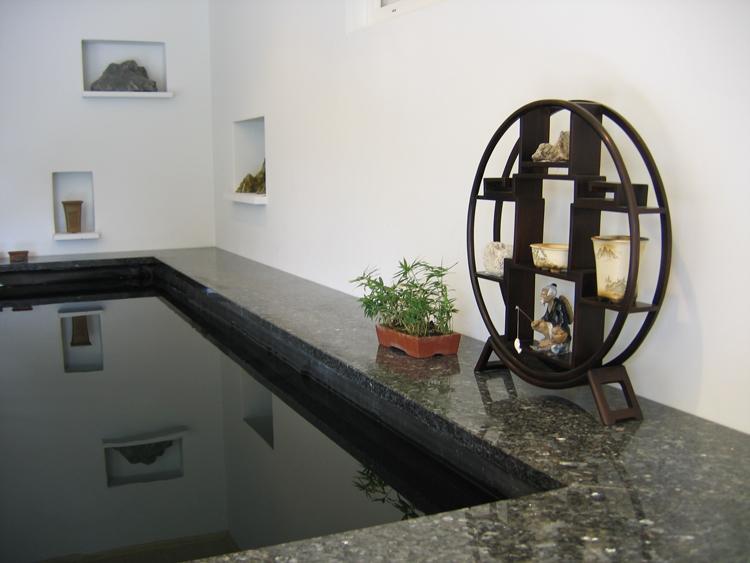 Construction d\'un bassin intérieur - La filtration
