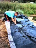 Le bassin naturel de canard wc une aventure 5 - Bassin canard bache ...