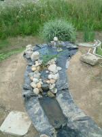 Le bassin naturel de canard wc une aventure 8 for Bache epdm belgique