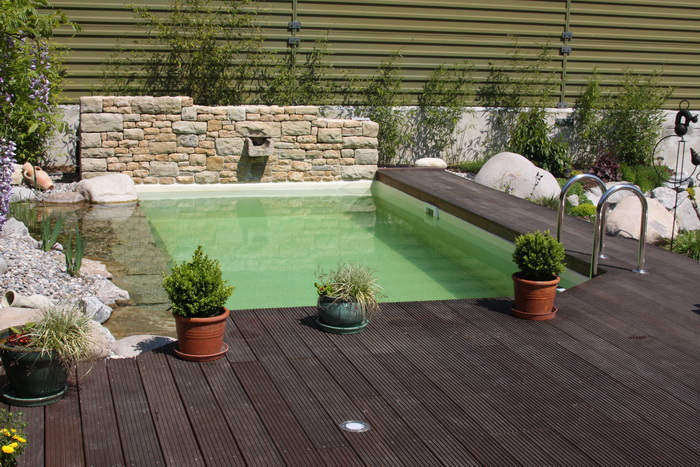 mini piscine biologique et bassin de jardin la piscine. Black Bedroom Furniture Sets. Home Design Ideas