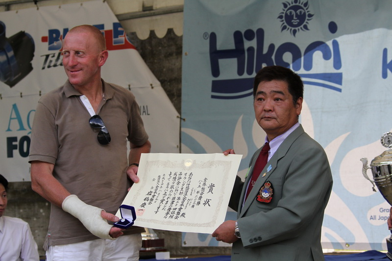 Jean Hoorne Grand Champion Holland koi show 2012