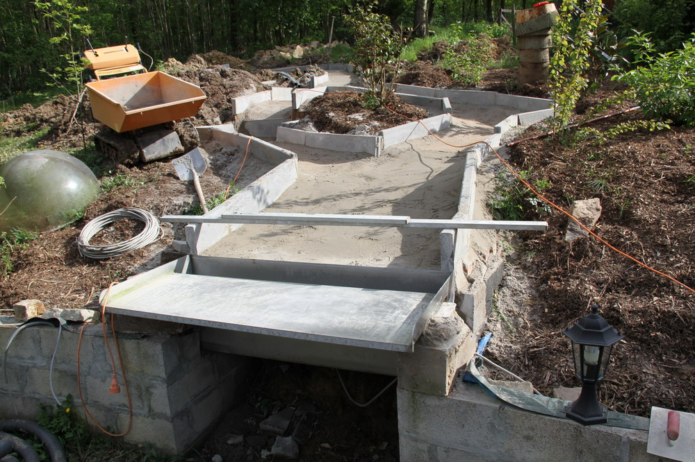 Koi vijver van aquatechnobel koivrienden for Zelf vijver bouwen